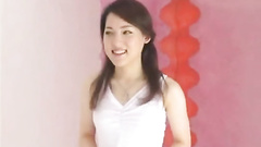 Eager Japanese woman is happy to suck cum out