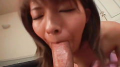Teenage blowjob ends up with the mouthful