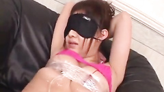 Sweetie Japanese is being tied up and pleased wit hot hardcore fuck