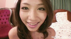 Sweet young Asian is giving hot head on exciting POV